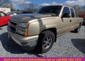 2006 Chevrolet Silverado Front Side View