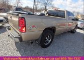 2006 Chevrolet Silverado Back Side View